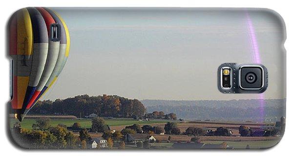 Galaxy S5 Case featuring the photograph Baloon Ride by Vilas Malankar