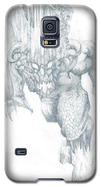 Balrog Sketch Galaxy S5 Case by Curtiss Shaffer
