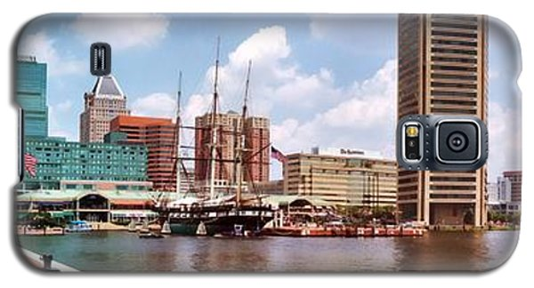 Baltimore Harbor Panorama Galaxy S5 Case