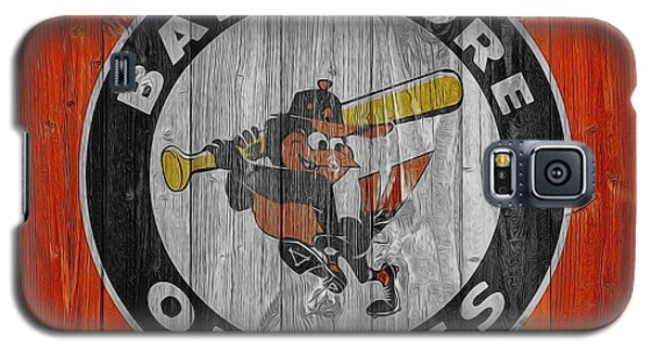 Baltimore Orioles Graphic Barn Door Galaxy S5 Case by Dan Sproul
