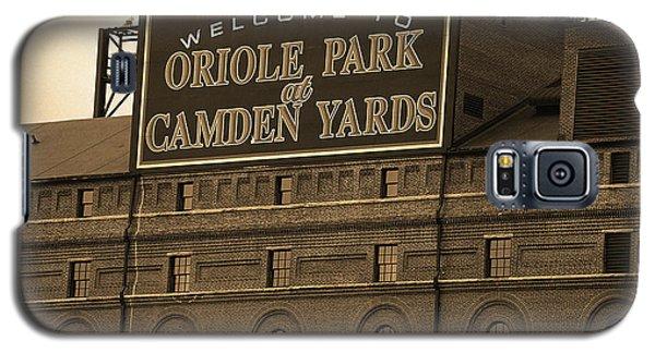 Baltimore Orioles Park At Camden Yards Sepia Galaxy S5 Case