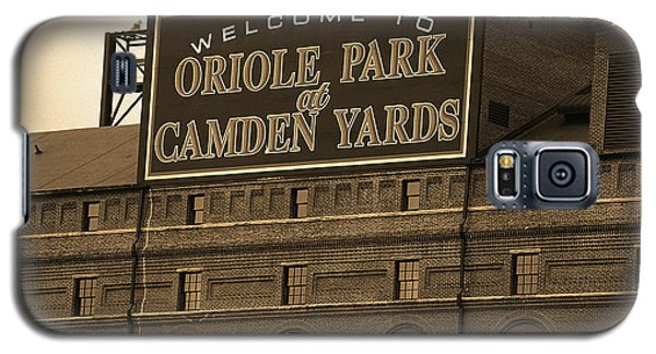 Baltimore Orioles Park At Camden Yards Sepia Galaxy S5 Case