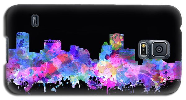 Galaxy S5 Case featuring the painting Baltimore Skyline Watercolor 5 by Bekim Art