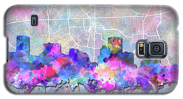 Galaxy S5 Case featuring the painting Baltimore Skyline Watercolor 6 by Bekim Art
