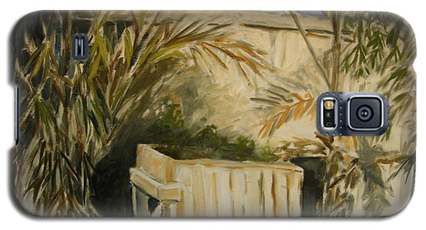 Bamboo And Herb Garden Galaxy S5 Case