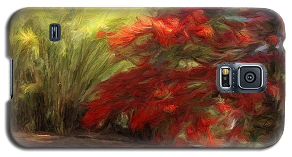 Bamboo And The Flamboyant Galaxy S5 Case