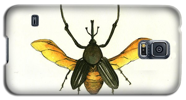 Bamboo Beetle Galaxy S5 Case by Juan Bosco
