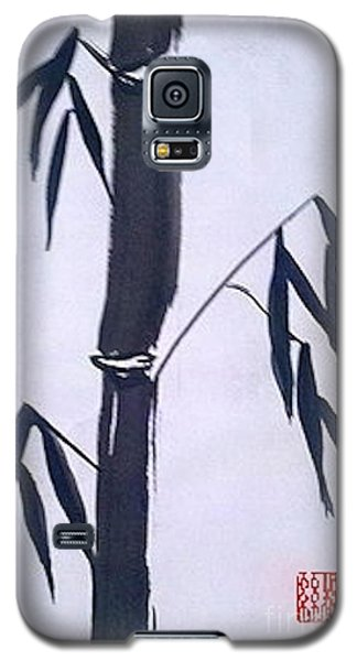 Bamboo In Black And White Galaxy S5 Case