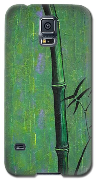 Galaxy S5 Case featuring the painting Bamboo by Jacqueline Athmann