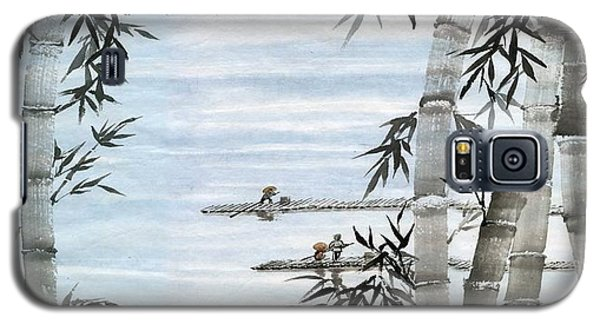 Bamboo Village Galaxy S5 Case by Ping Yan