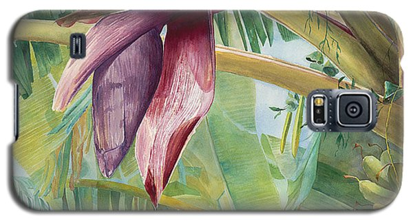 Banana Flower Galaxy S5 Case