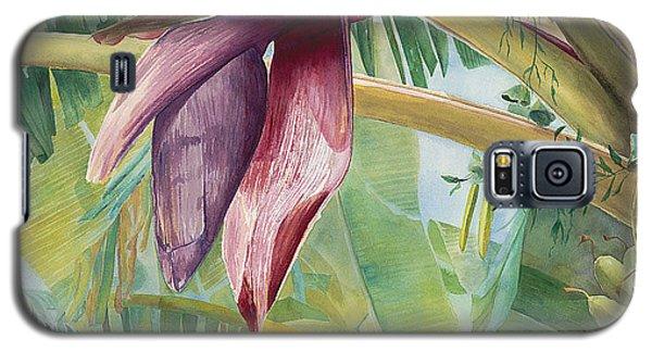 Banana Flower Galaxy S5 Case