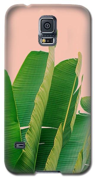 Banana Leaves Galaxy S5 Case by Rafael Farias