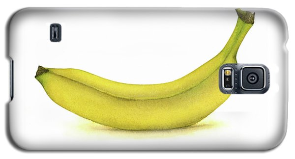 Banana Watercolor Galaxy S5 Case