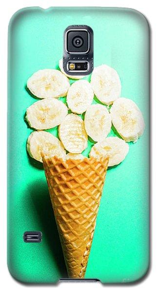 Banana Galaxy S5 Case - Bananas Over Sorbet by Jorgo Photography - Wall Art Gallery