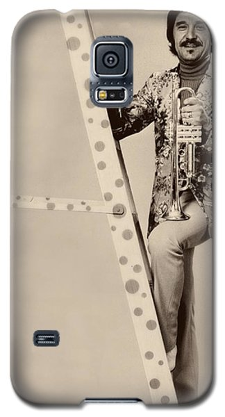 Band Leader Doc Serverinsen 1974 Galaxy S5 Case by Mountain Dreams
