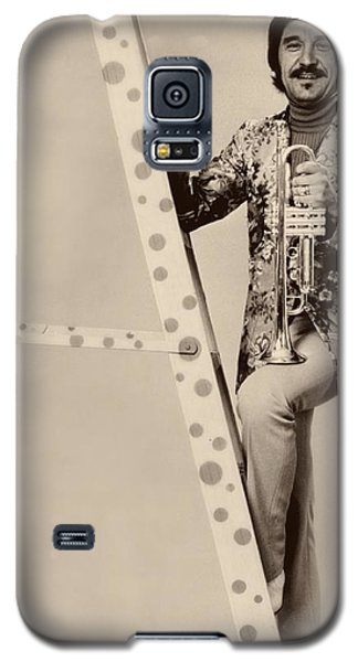 Johnny Carson Galaxy S5 Case - Band Leader Doc Serverinsen 1974 by Mountain Dreams
