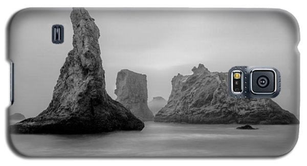 Bandon Beach In The Fog Galaxy S5 Case