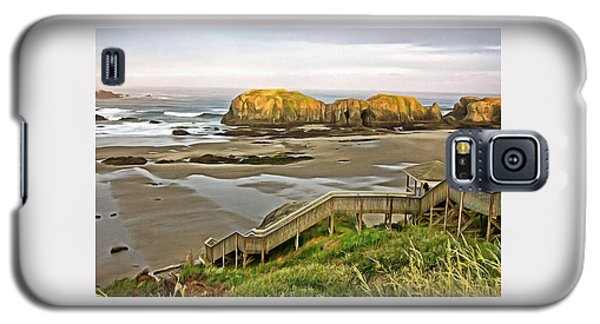Bandon Beach Stairway Galaxy S5 Case