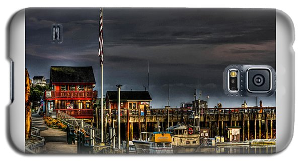 Bandon Boat Basin At Dawn Galaxy S5 Case by Thom Zehrfeld