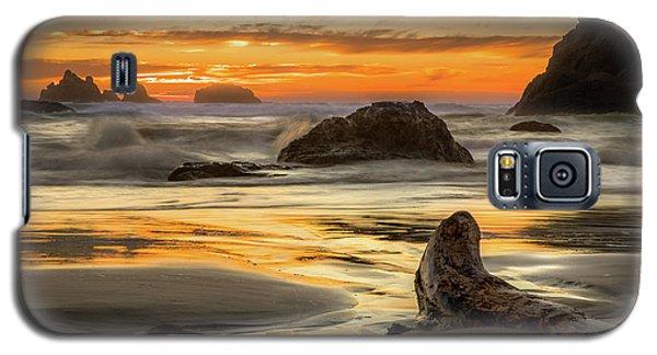 Bandon Orange Glow Sunset Galaxy S5 Case