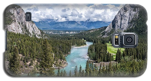 Banff - Golf Course Galaxy S5 Case