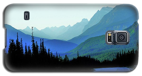 Banff Jasper Blue Galaxy S5 Case