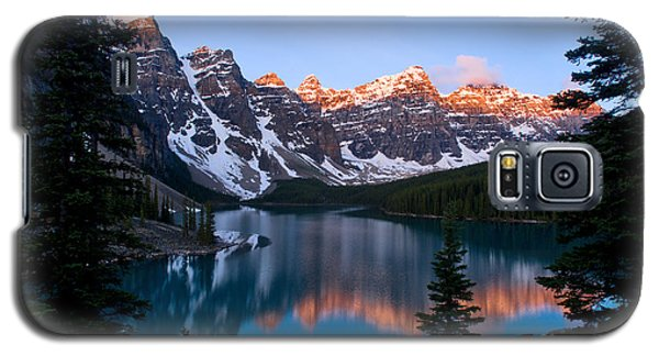 Banff - Moraine Lake Sunrise Galaxy S5 Case