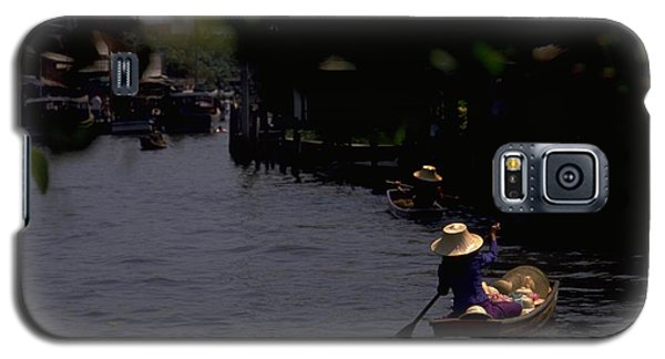 Bangkok Floating Market Galaxy S5 Case