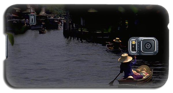 Bangkok Floating Market Galaxy S5 Case