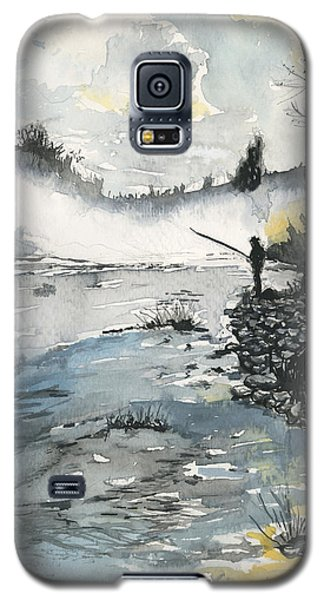 Bank Fishing Galaxy S5 Case