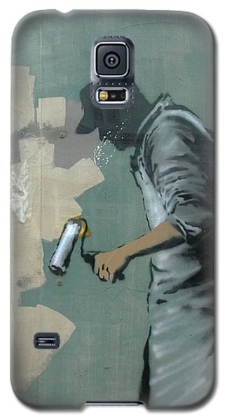 Banksy In New Orleans Galaxy S5 Case