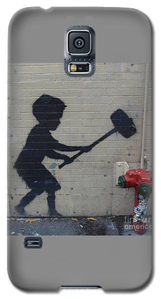 Banksy In New York Galaxy S5 Case