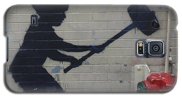 Banksy In New York Galaxy S5 Case