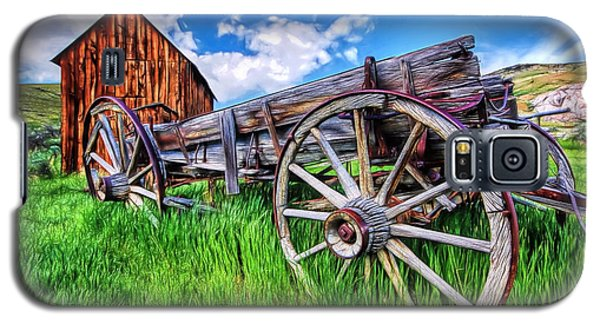 Bannack Wagon Galaxy S5 Case