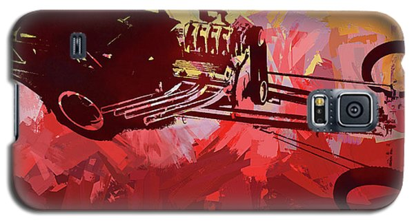 Bantam Dragster Pop Red Galaxy S5 Case