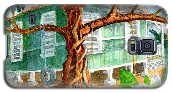 Banyan In The Backyard Galaxy S5 Case