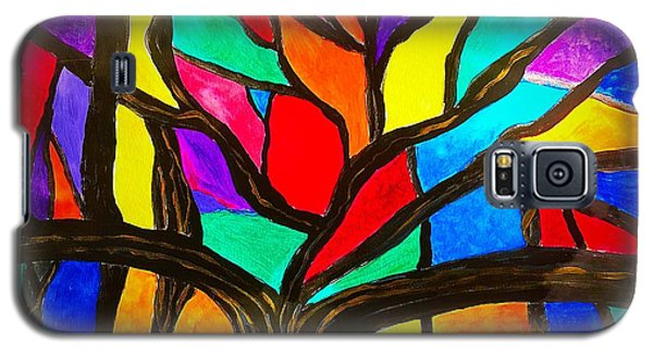 Banyan Tree Abstract Galaxy S5 Case