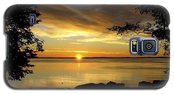 Bar Harbor Sunrise 1 Galaxy S5 Case