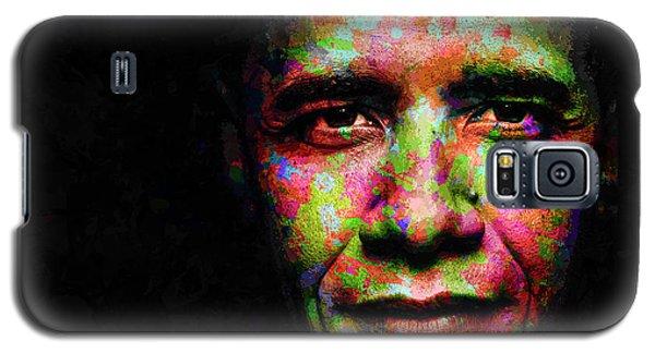 Barack Obama Galaxy S5 Case by Svelby Art