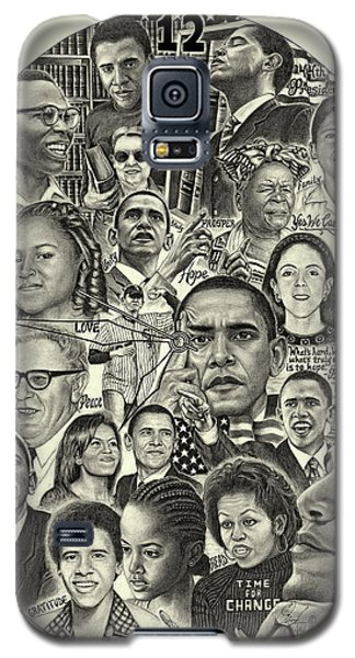 Barack Obama- Time For Change Galaxy S5 Case