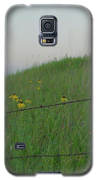 Barb Wire Prairie Galaxy S5 Case