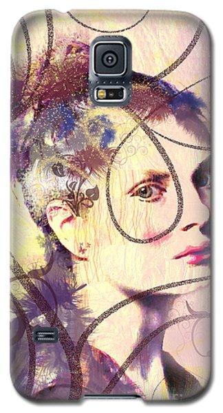 Barbara Blue Galaxy S5 Case by Kim Prowse