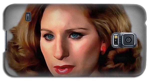 Barbara Streisand Galaxy S5 Case by Sergey Lukashin