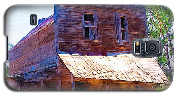 Galaxy S5 Case featuring the photograph Barber Store by Susan Kinney