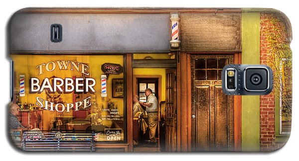 Barber - Towne Barber Shop Galaxy S5 Case