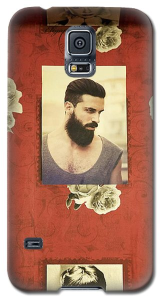 Galaxy S5 Case featuring the photograph Barbershop by Colleen Williams