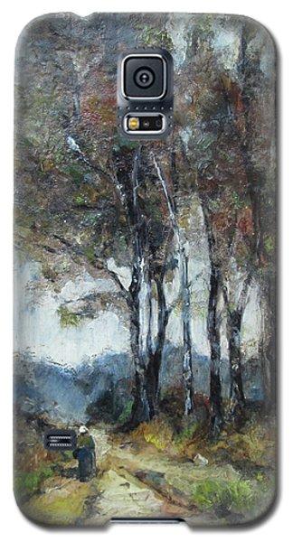 Galaxy S5 Case featuring the painting Barbizon Road by Debora Cardaci