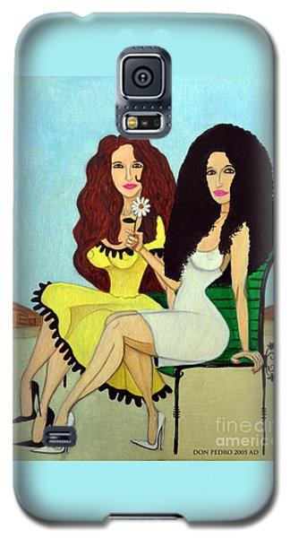 Barcelona Girls Galaxy S5 Case by Don Pedro De Gracia