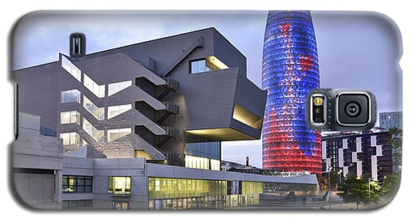 Galaxy S5 Case featuring the photograph Barcelona Modern Architecture by Marek Stepan